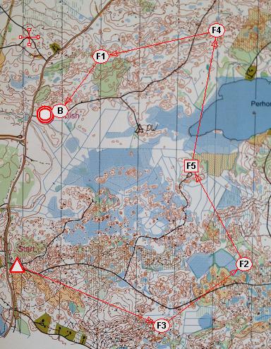 2m løpet Nordisk 2014